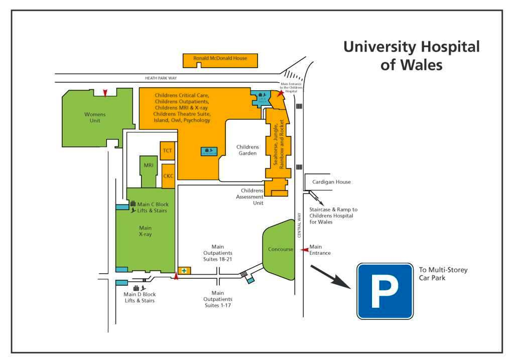 Cardiff Heath Hospital Map Pictures Inspirational Pictures