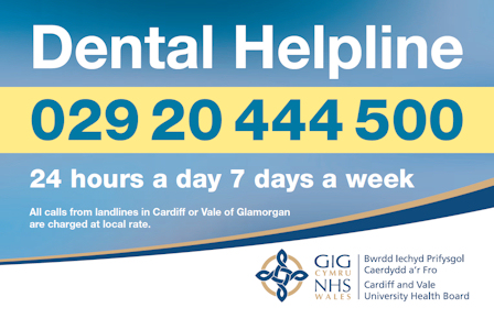 Dental Helpline contact details